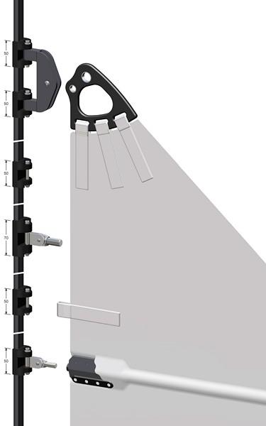 Headboard slider